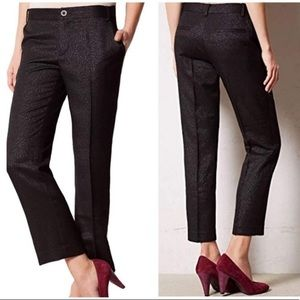 Anthropologie Cartonnier Lou Straight Trousers